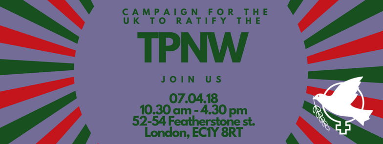 Workshop on campaigning for UK to ratify the TPNW